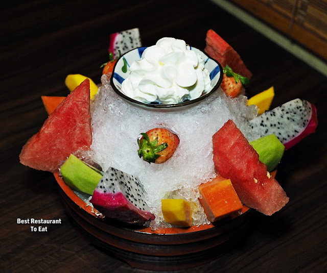 Mix Fruit Platter Ishin Japanese Restaurant Old Klang Road