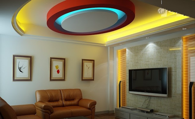 How to install LED light strips for POP ceiling design