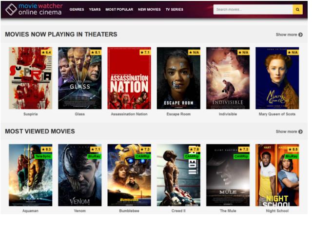 1. MovieWatcher – Watch Free Movies Online