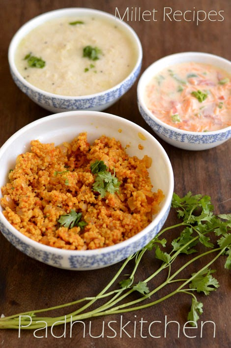 Foxtail millet tomato rice-Thinai recipes