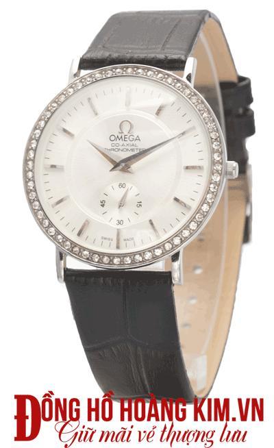 mua đồng hồ nam dây da omega giảm giá