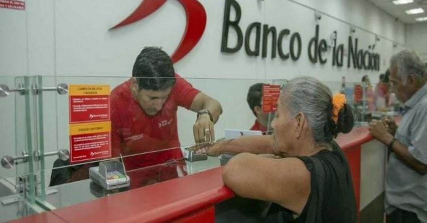 Banco de la Nación atenderá al público hoy jueves de 08:30 a 13:30 horas