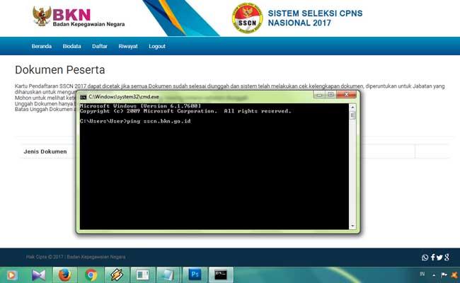 Gambar untuk Upload Dokumen di SSCN Error