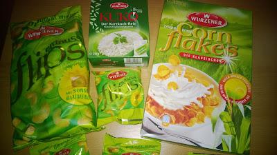Produktset mit unterschiedlichen Produkten