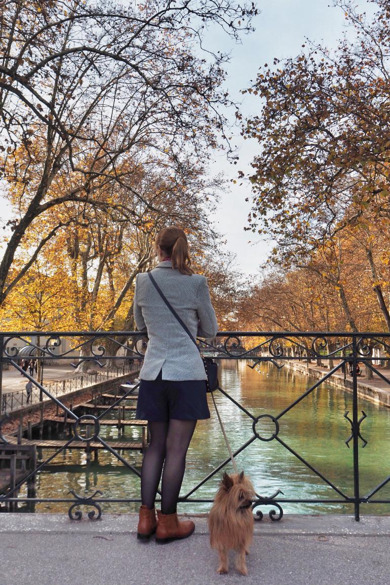 Promenade à Annecy en automne