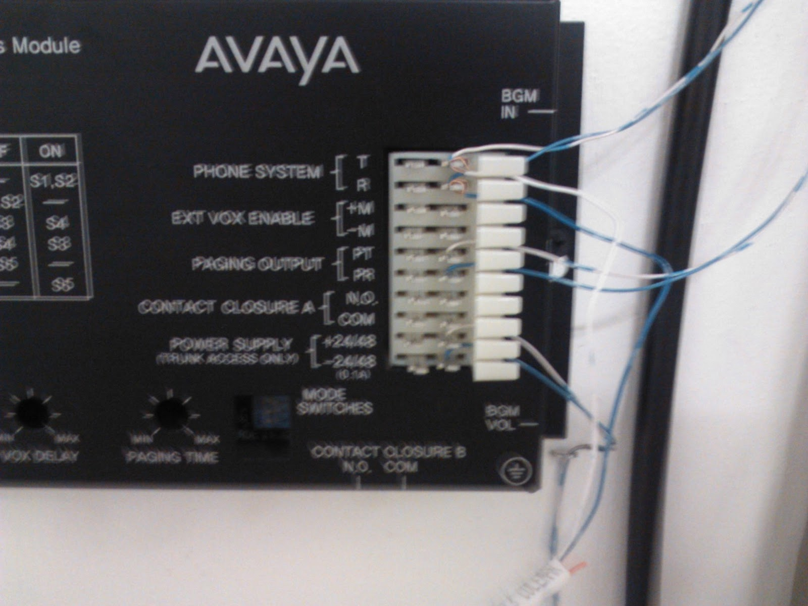 Todd 4 Tech: Avaya IP Office Paging Both Overhead & Phones