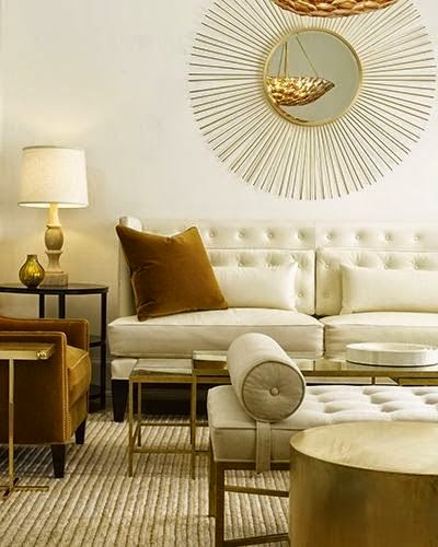 Eye For Design Decorate With The White And Gold Combination For Trendy Interiors