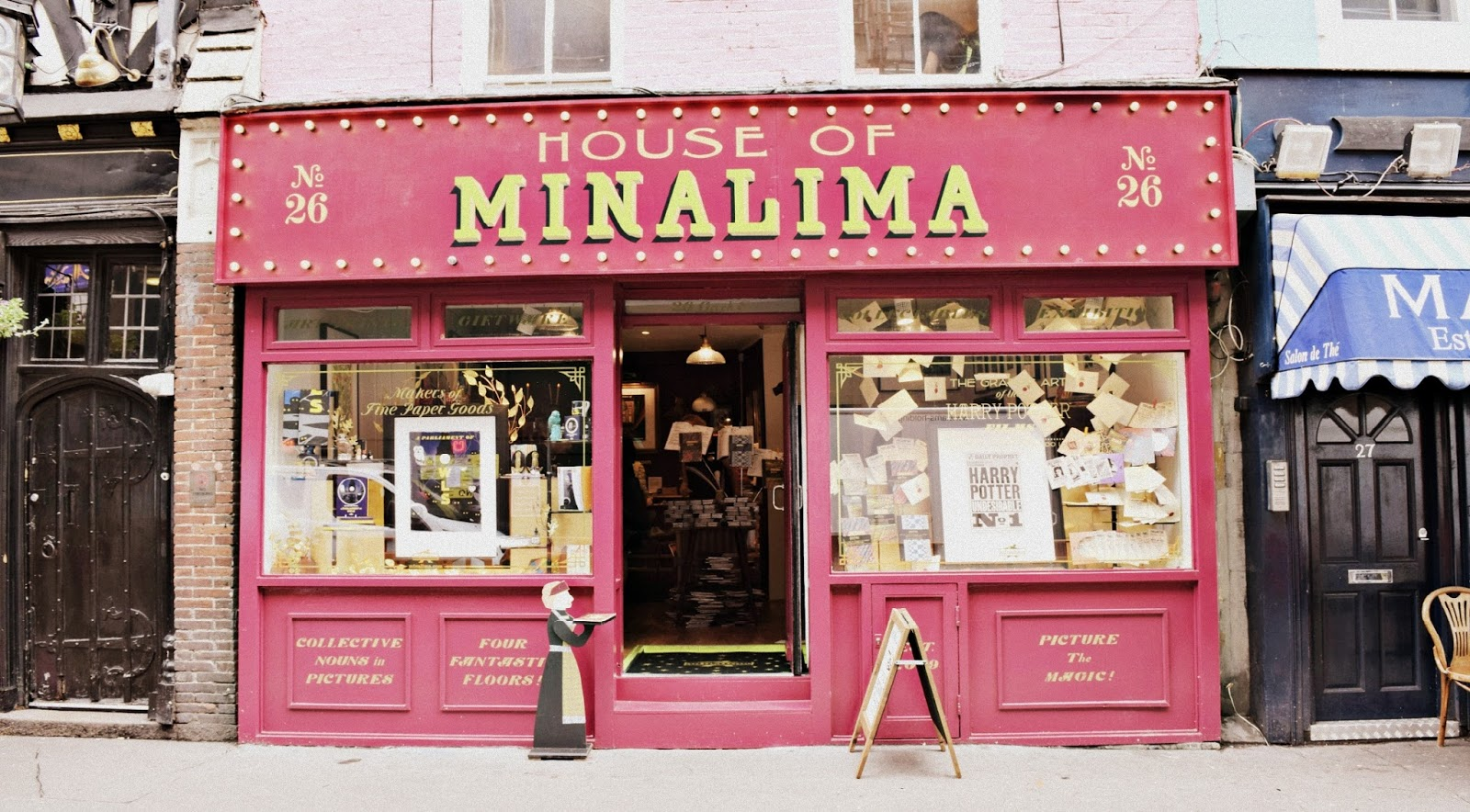 The House of Minalima Greek Street London