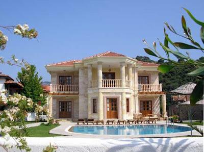 แบบบ้านสองชั้น กรีก ตุรกี