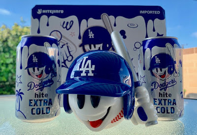 Bunty LA Dodgers Edition Resin Figure by Sket One