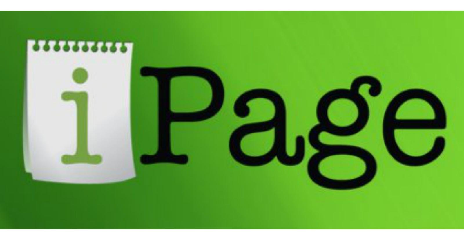 IPAGE WEB HOSTING COMPANY PROFILE - DYNASTER ENTERPRISE