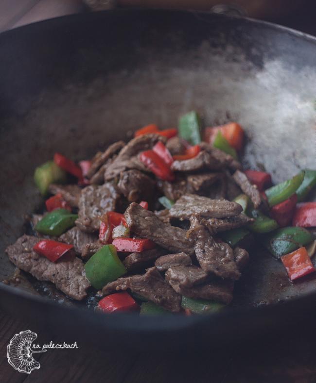 wołowina w pieprzu