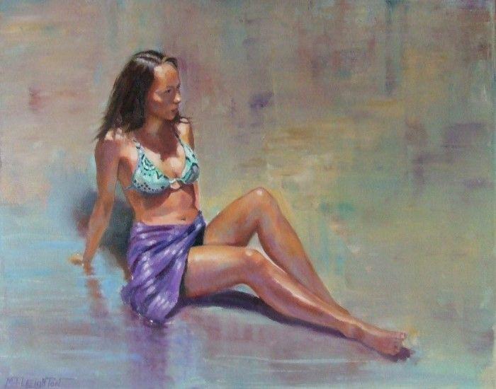 Британский художник. Martin Leighton