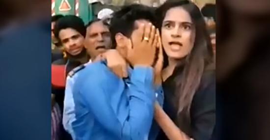 Menina agarra abusador pelo colarinho e chama a polícia - Capa