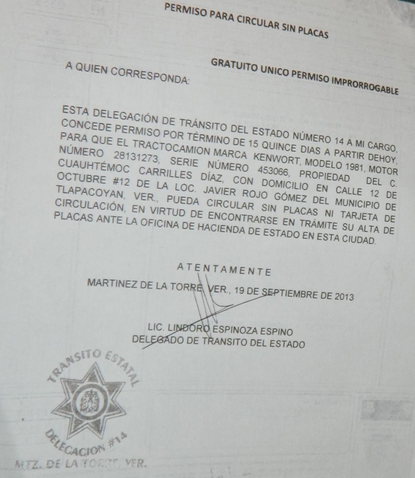 La Noticia Del Hoy Y Del Mañana Transito En Operativo