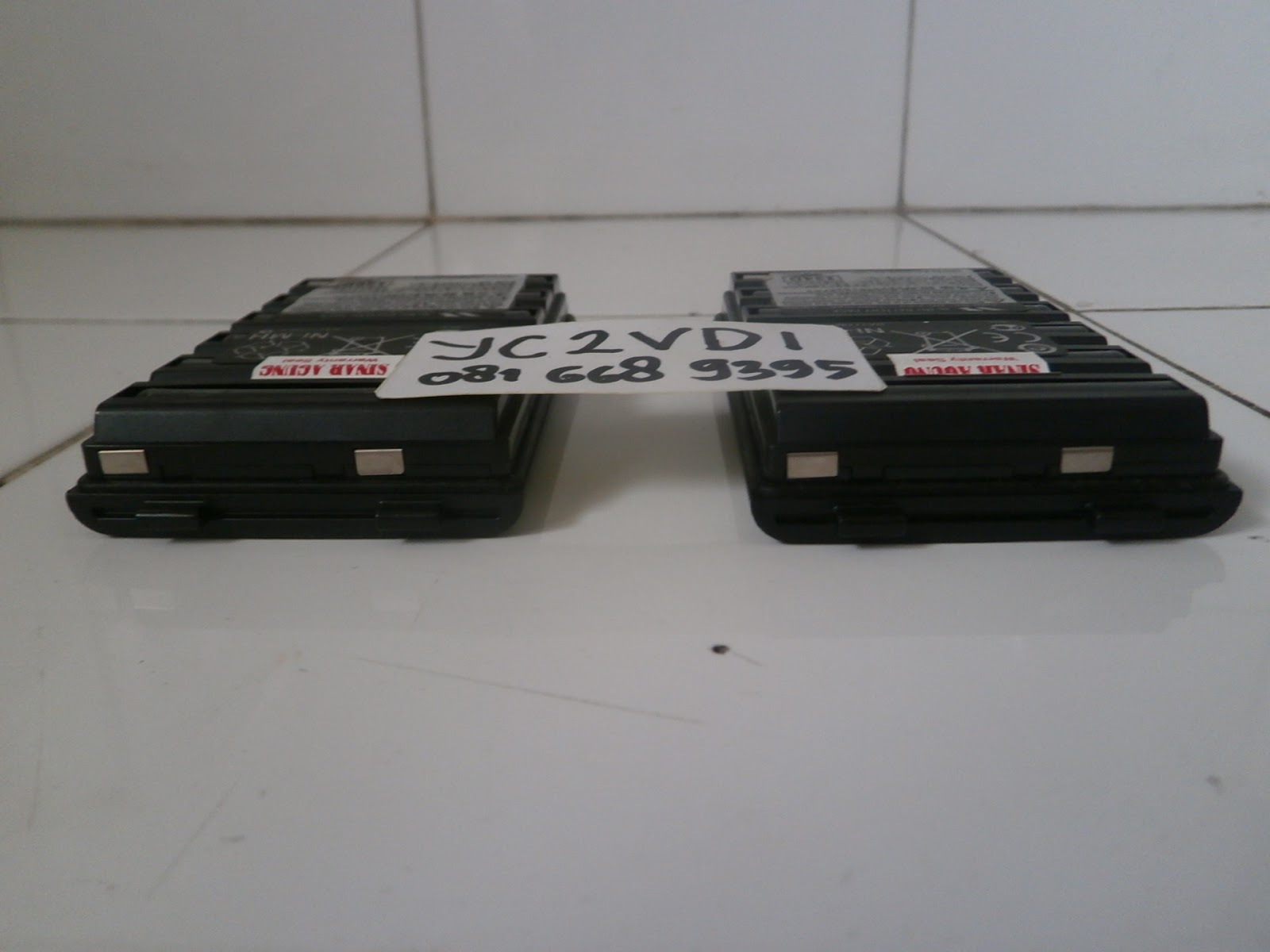 Sinar Agung Y C 2 V D I Battery Pack Yaesu Fnb 83