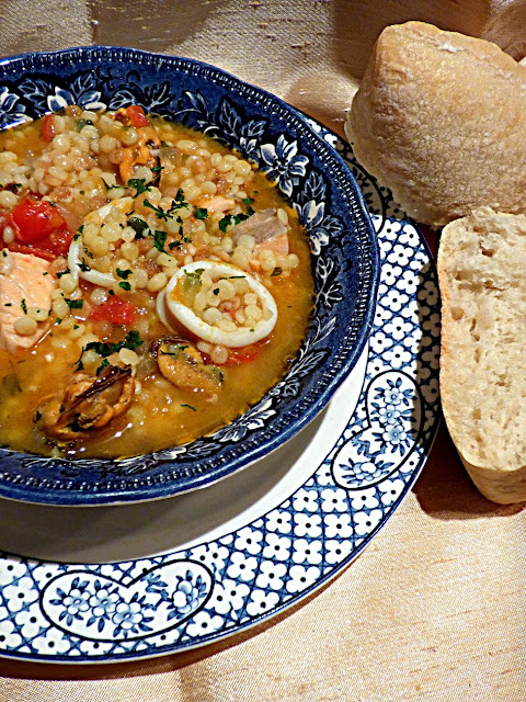 Sardinian fish and seafood stew