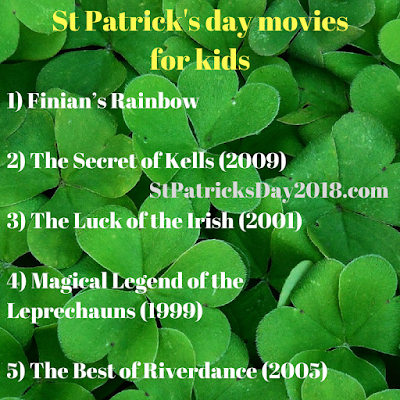 St Patrick's day 2018 movies for kids