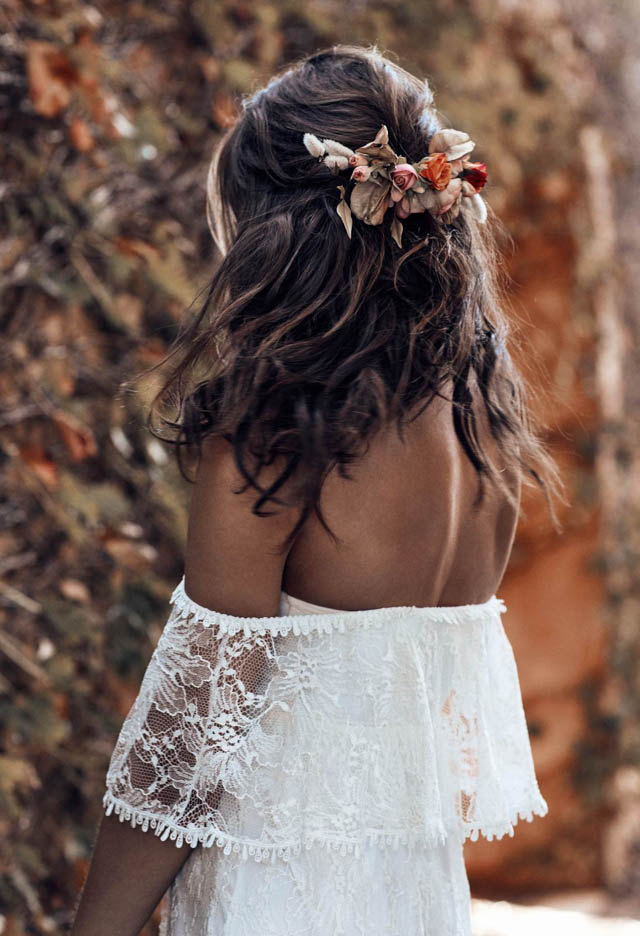 grace loves lace wedding dress vestido novia bohemio boho