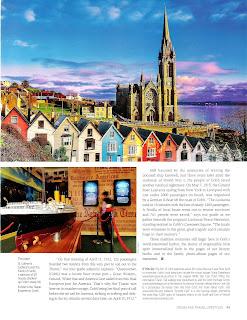 Cobh,Ireland Page 49. Travel story by Janie Robinson, Travel Writer