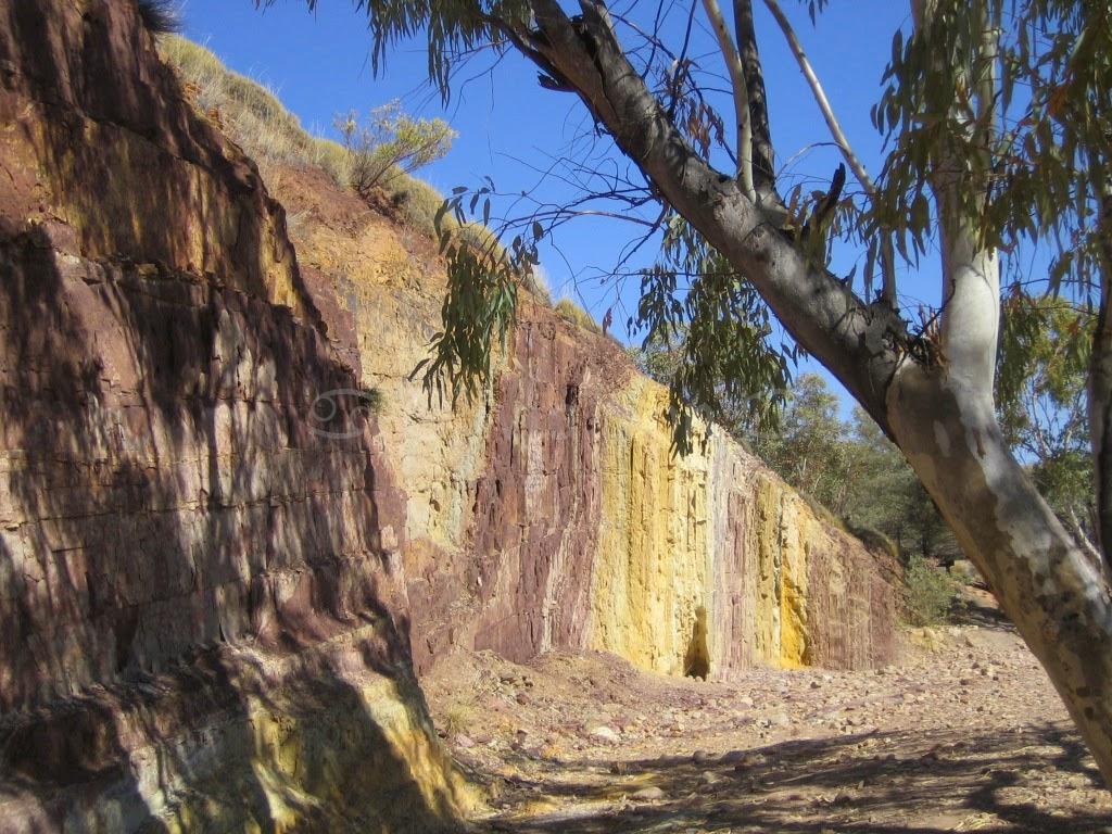 Ochre Pits, Australie