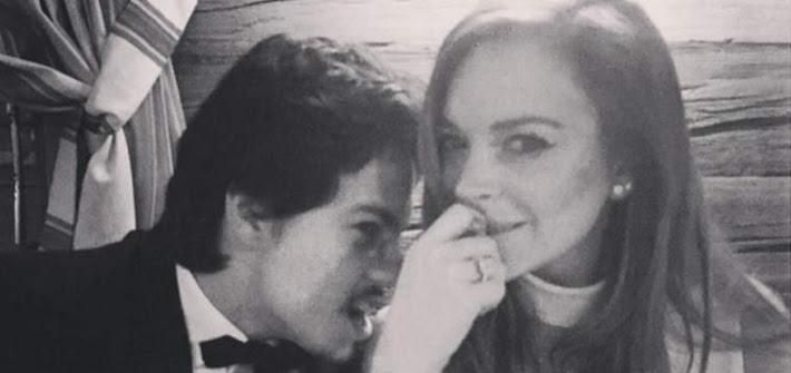 Lindsay Lohan: la storia d'amore finisce a botte