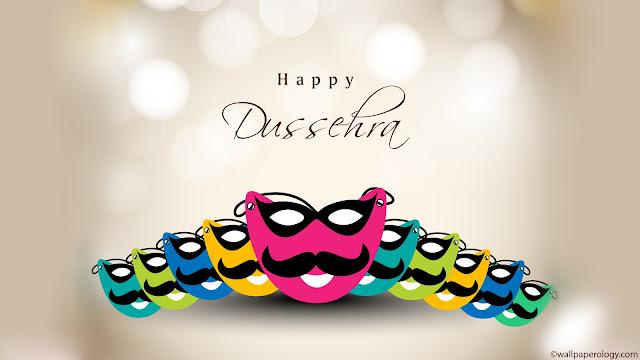 Colorful Happy Dussehra Festival Images 2016