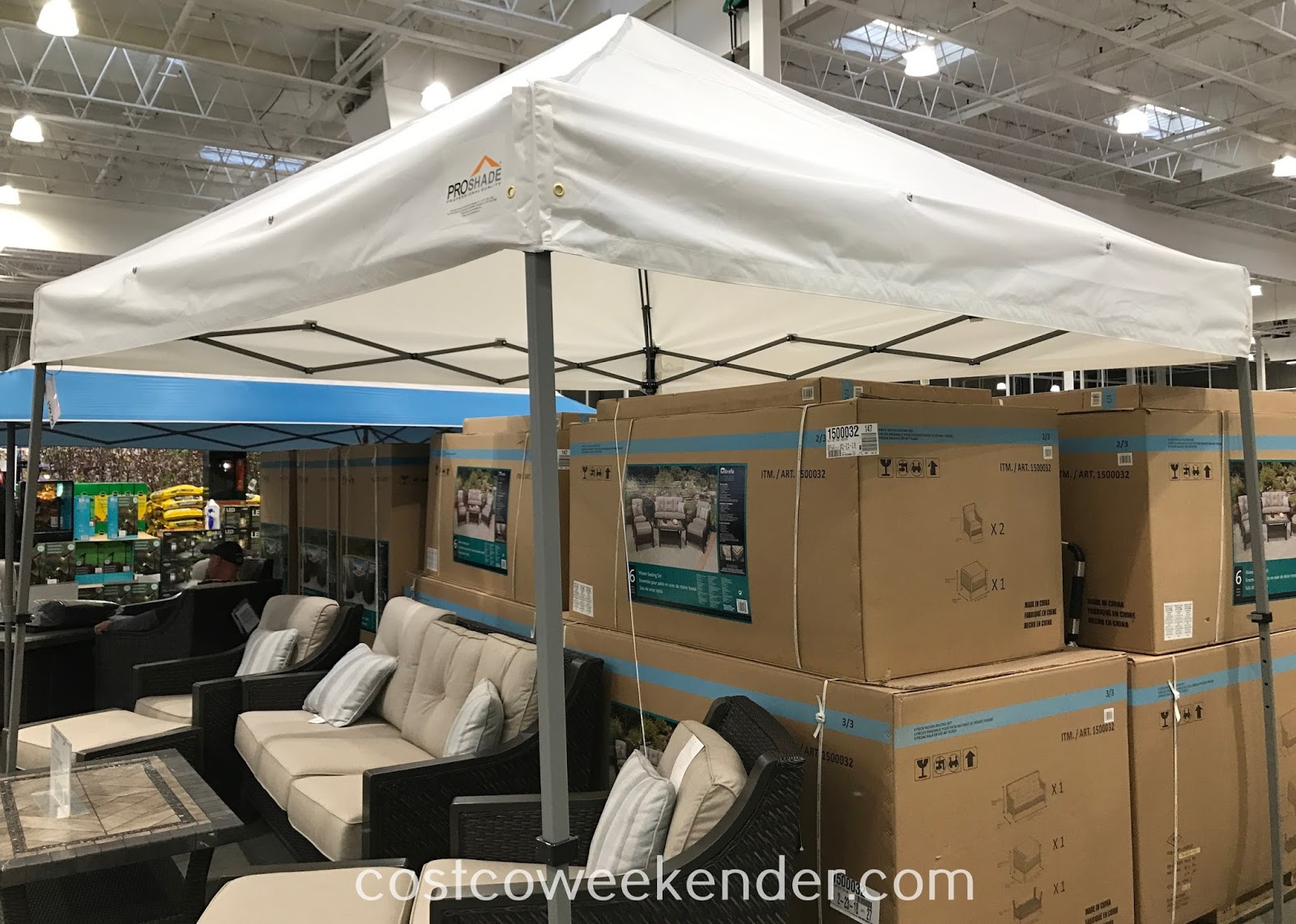 Keep cool while being outside with the ProShade Pop-Up Canopy