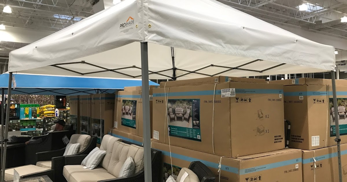 Proshade Pop Up Canopy 10 X 10 Costco Weekender