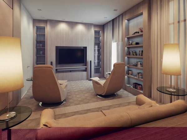 Home Theater Design Ideas Diy: Home Theater Seat Design Ideas