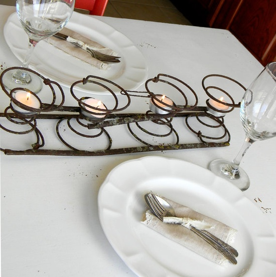 Dishfunctional Designs Spring It On Interesting Things Made With Old Springs