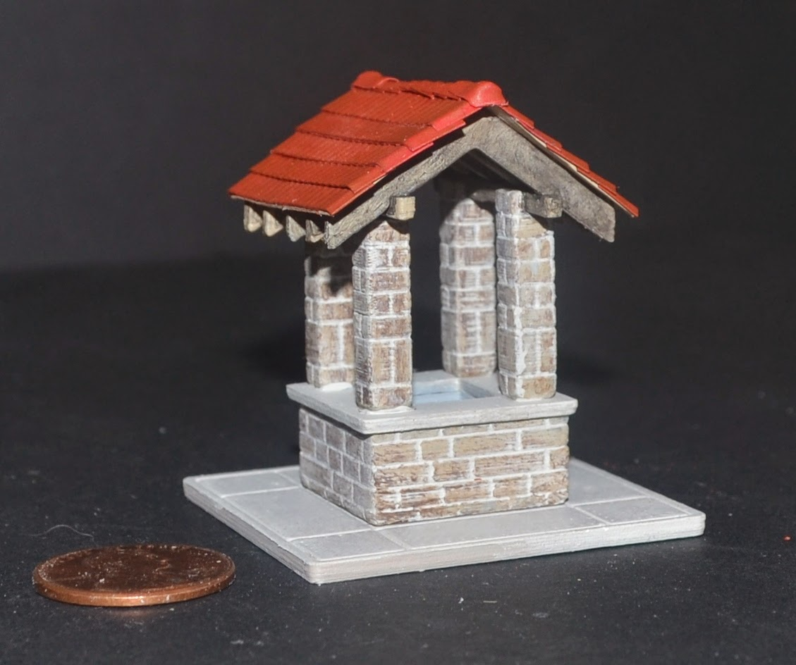 Nirvana Valley Model Railroad: Barry Well, 3d Printing And