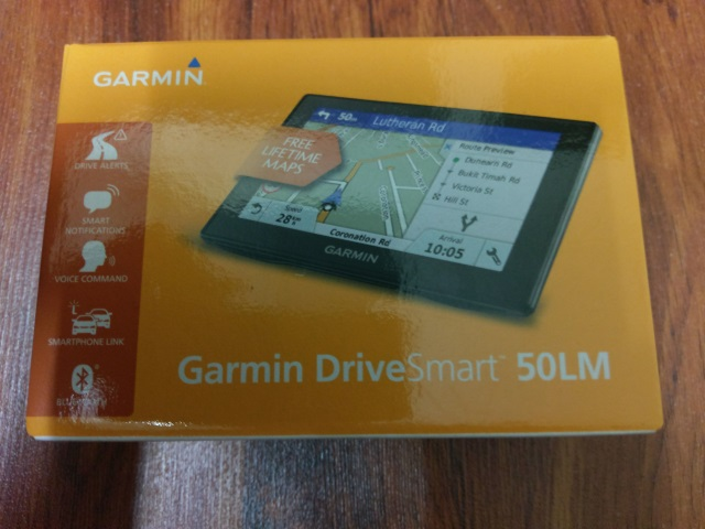 My Garmin DriveSmart 50LM GPS navigator | The 8th Voyager