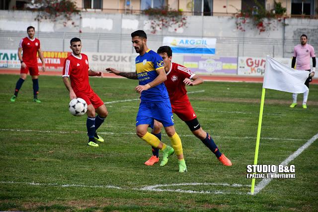 Στη παράταση η Ένωση Ερμιονίδας απέναντι στο Ναύπλιο 2017 πήρε με 0-1 την πρόκριση για το κύπελλο Αργολίδας