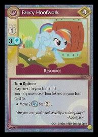 My Little Pony Fancy Hoofwork GenCon CCG Card