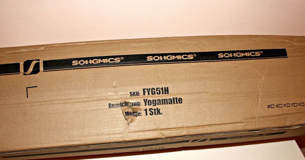Review tappetino da yoga e fitness Songmics FYG51H
