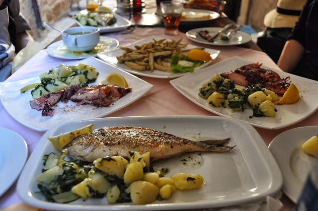 Seafood in Croatia