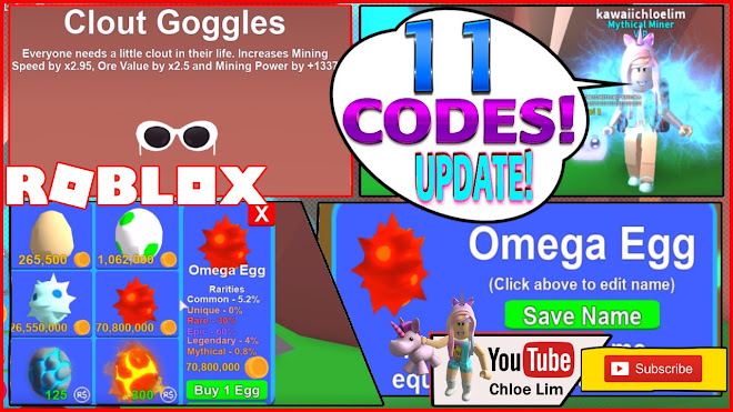 Roblox Mining Simulator Gameplay! [✨LEVELS] 11 CODES and New