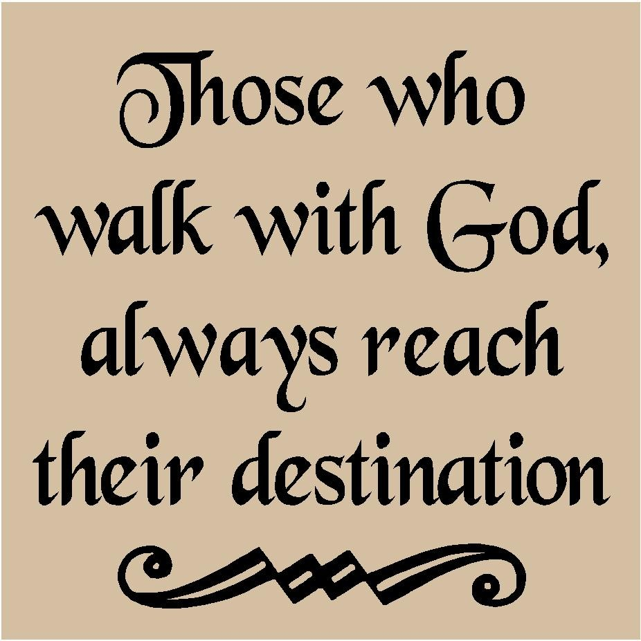 Gods Quotes: Gods411 : Are You Walking With God?