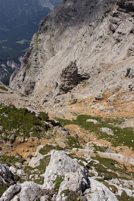 Zweitätige Wanderung im Gesäuse von Gsatterboden zum Buchsteinhaus und weiter über den Südwandband Klettersteig auf den Großen Buchstein - Abstieg über Normalweg