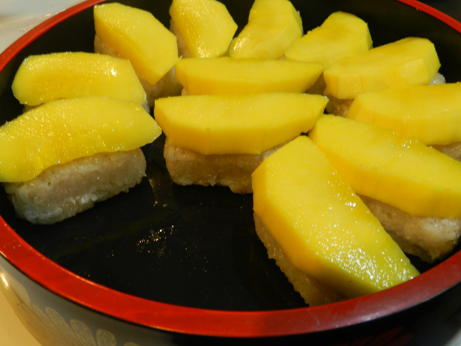 A Pepper's Love: Mango Sticky Rice - Sushi Style (Perlis ...