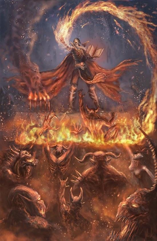 Sebastian Horoszko TatarskiSkandal deviantart ilustrações fantásticas fantasia sombria terror