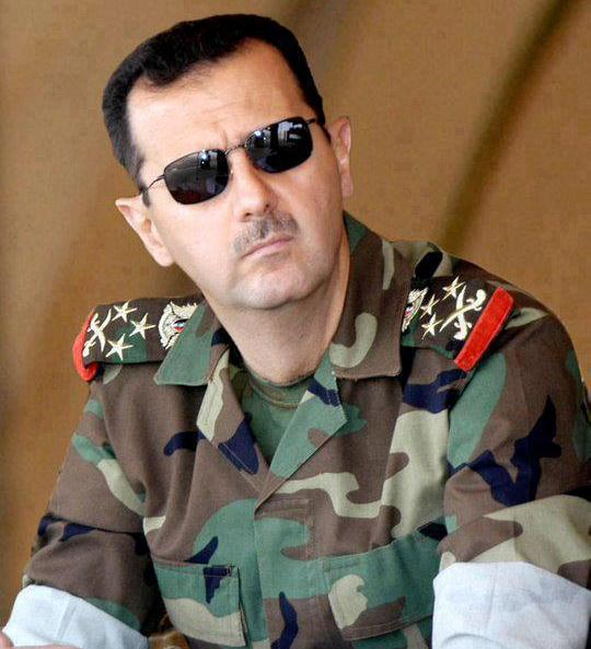 Yo no sé porqué Bashar Al Asad se me parece a Ramfis Trujillo