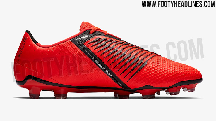 reputable site 28cd6 8aad6 The debut Nike Phantom Venom Elite soccer boots, part of the  Game Over   collection, are predominantly  total orange  with contrasting black used for  all ...
