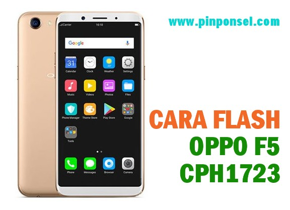 panduan cara flash oppo f5 cph1723 tanpa pc via sd card