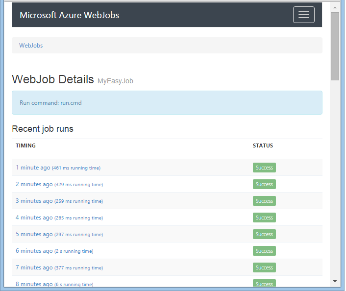 Ridiculously Easy Scheduled Azure WebJobs