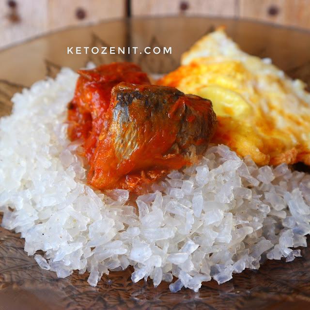 Nasi Sarden Shirataki