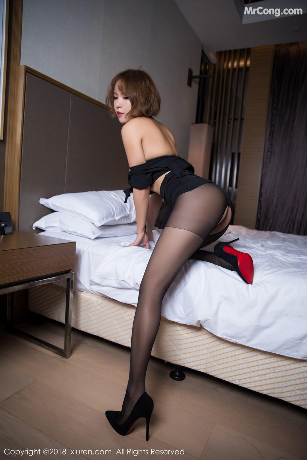 Image XIUREN-No.1264-Ya-Wen-MrCong.com-056 in post XIUREN No.1264: Người mẫu Ya Wen (雅雯) (61 ảnh)