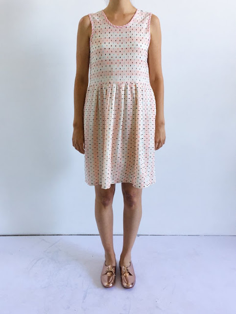 Ace & Jig Joni Mini Dress in Macaron