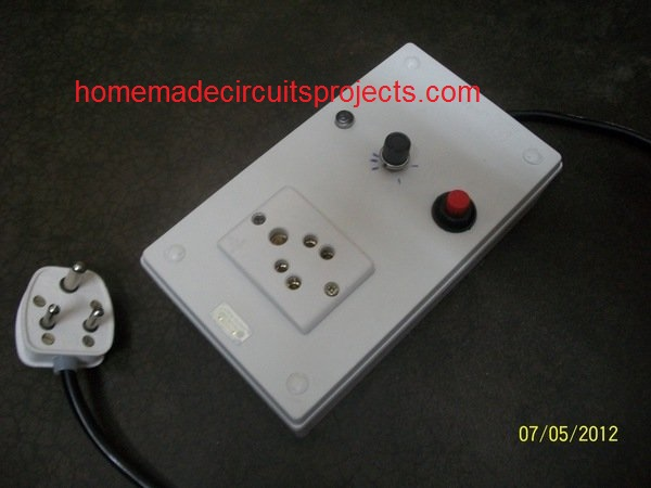 prototype image front water level timer circuit